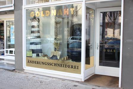 Änderungschneiderei Goldnaht in Berlin